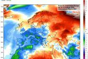 CLIMA, l'Europa quasi tutta al FREDDO! INVERNO arrivato fuori tempo massimo