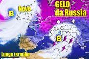 Meteo 15 giorni, sferzate di MALTEMPO invernale. Freddo