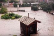 Alluvione nell'alessandrino, video meteo impressionante da Villaromagnano