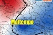 Meteo ITALIA Europa: piogge e temporali frequenti nei prossimi giorni