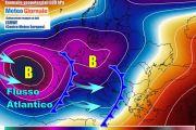 Italia meteo torna forte il maltempo atlantico prima del grande freddo