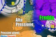 Meteo Italia: BEFANA con FREDDO Artico, poi ANTICICLONE. Novità a seguire