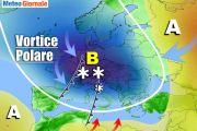 Meteo Febbraio rischio di grosso Split del Vortice Polare. Conseguenze
