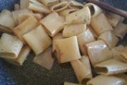 Schiaffoni aglio, olio, vino e peperoncino