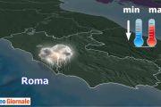 Meteo Roma, altre piogge temporali