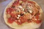 Pizza alla parmigiana - romana bassa e croccante